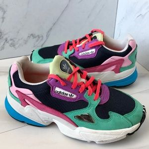 Adidas Falcon Colorblock Running Sneakers